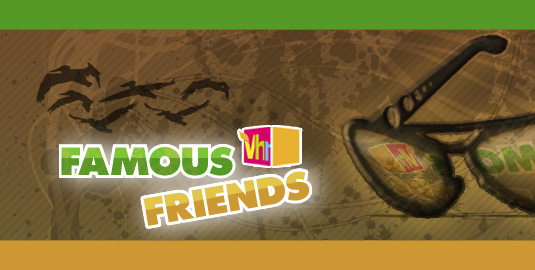 Famous VH1 Friends Large Logo